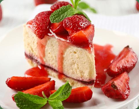 Cheesecake de frutillas
