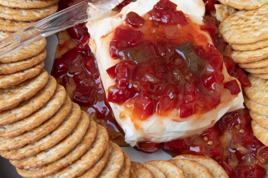 Chutney provenzal con queso crema light