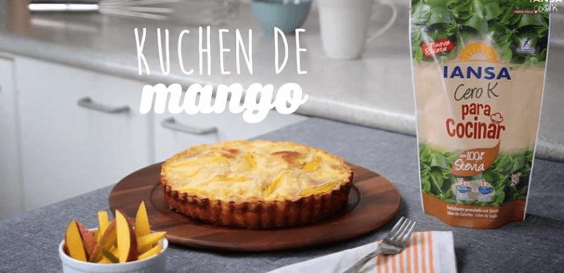 Kuchen de mango