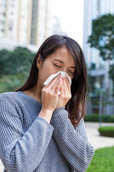 Combate la alergia de primavera con una buena nutrición